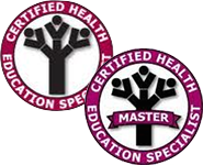Certified Health Education Specialist CHES or Master Certified Health Education Specialist MCHES